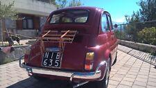 Classic Fiat 500 Cinquecento with personalised registration