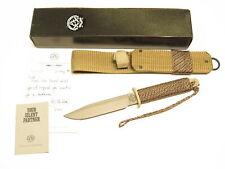 1991 John Ek DP-6 Desert Shield Commemorativce Fixed Blade Commando Knife & Box