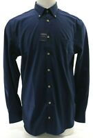 Charles Tyrwhitt Men's NWT Non-Iron Extra Slim Fit Dress Shirt Size Large Blue
