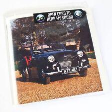 Triumph TR2 Sound Greeting Card