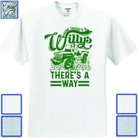 Antique Classic Vintage Where there's a Willys there's a way jeep offroad Shirt
