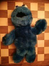Vintage 1992 Cookie Monster Soft Plush Toy Sesame Street 34cm Applause