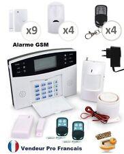 Maison Sans Fil Téléphonique GSM Anti Intrusion Fonction Temporisation 9+4+4