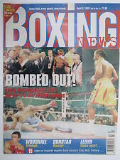 Boxing News 3 Apr 1998 Lewis Briggs Woodhall Malinga Graham Brewer