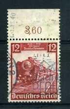 ALLEMAGNE, 1935, timbre 540, Train, locomotive oblitéré