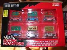 1996 Richard Petty STP NASCAR Diecast 43 & 5 Labonte Ironman HO medalion 6pc set