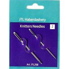 Knitters Wool Needles  Large Eye For Easy Threading Darning, Sewing, Tapestry