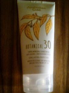 Australian Gold Botanical Sunscreen SPF 30 Mineral Lotion 5 oz Tube Exp 3/2023