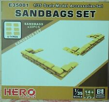 Hero Hobby 1/35 Sandbags Set Model Accessories E35001
