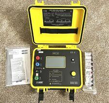 Aemc 4620 4 Point Digital Ground Resistance Tester 2000 Ohms Resistance New