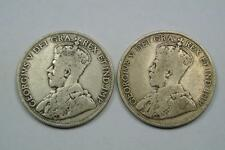 1918 & 1919 Newfoundland 50 Cents, Fine & VF Conditions - C1836