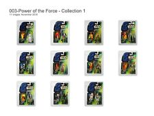 Star Wars Power of the Force 11 Figure Green Card Collection 1 Full Set NIB