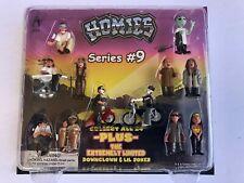 Homies Series #9 - 12 Figures - MINT IN SEALED PACKAGE !!!