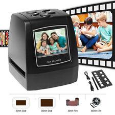 LCD Digital Negative Film Slide Photo Scanner Converter to JPEG 35mm/135mm UK