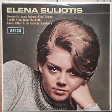 SXL 6306  Elena Suliotis sings Donizetti & Verdi / De Fabritiis / Rome Opera ...