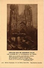 CPA MILITAIRE Celles qui ne Sonnent Plus, les cloches de la Cathédrale (315517)