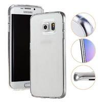 Slim Silver Transparent Soft Silicone Gel Case Skin Shell For Samsung Galaxy S7