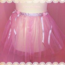 🌸 CLAIRE'S Tutu Rose Cravate Sur Jupe De Fée Princesse Ballerine Barbie rapide 📮 🌸