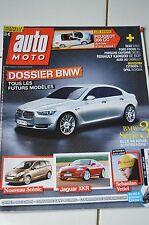 AUTO MOTO N°165 2009 // PEUGEOT 308 CC BMW SERIE 3 SCENIC JAGUAR XKR S. VETTEL