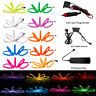 Glow LED Neon Light El Wire String Strip Rope Car Party + 3V/12V/USB Controller