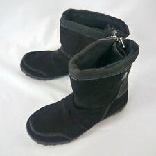 Khombu Women's Black Thermolite Insulated Winter Boots JW 2591 Size 7