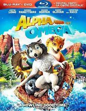 NEW BLU RAY +  DVD COMBO - ALPHA and OMEGA - JUSTIN LONG, CHRISTINE RICCI ,