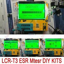 LCR-T3 DIY LCD12864 Mega328 Transistor Tester Diode Triode Capacitance ESR Meter
