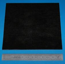 "Garolite Sheet, Grade XX, .125"" (3.2mm), 6x6"" (Black)"
