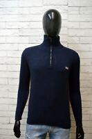 NAPAPIJRI Maglione Taglia S Cardigan Uomo Pullover Maglia Sweater Lana Man Blu