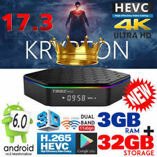 T95Z PLUS S912 3GB+32GB Smart TV Box Octa Core Android 7.0 DUAL WIFI 4K KD 17.3