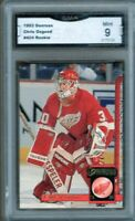GMA 9 *Mint* CHRIS OSGOOD 1993/94 Donruss Detroit Red Wings ROOKIE!
