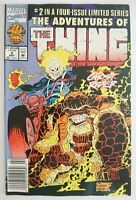 MARVEL | THE ADVENTURES OF THE THING | NR 2 OF 4 (1992) | GHOST RIDER | Z 1 VF