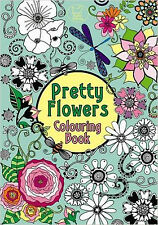 Pretty Flowers Colouring Book (Pretty Patterns), New,  Book
