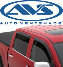 AVS 94231 Tape-On Window Ventvisors 4-Piece Smoke 88-00 Chevy Pickup C/K Ext Cab