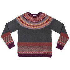 Eribe Alpine Sweater BNWT Merino Angora Fairisle SPECIAL PRICE RRP £165 Autumn
