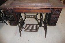 1909 singer sewing machine front long drawer door