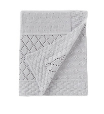 Edgehill Collection Baby Knit Patchwork Blanket -  See Details