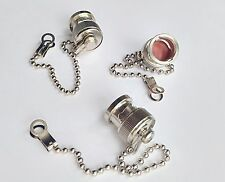 20pcs Dust cap with chain for BNC female RF connector plug