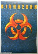 BIOHAZARD Evan Seinfeld Debut Album Artwork Rare Original 1990's Vintage POSTER