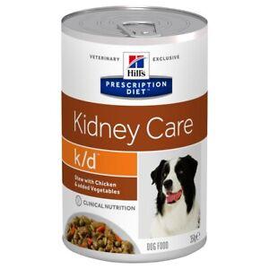 Hills Prescription Diet KD Tins for Dogs (Stew with Chicken & Veg) 12 x 354G
