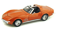 1970 Chevy Corvette T-Top Bronze Maisto 31202 1/24 Scale Diecast Model Toy Car