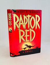 Raptor Red-Robert T. Bakker-SIGNED!-INSCRIBED!-TRUE First/1st Edition-VERY RARE!