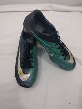 Mens Boys Nike Blue Mercurial Football Boots Trainers Size 8 #4