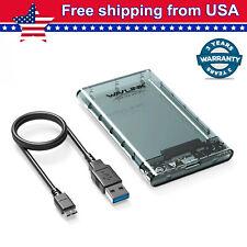 Wavlink HDD Case 2.5'' SATA SSD to USB3.0 External Hard Drive Disk Enclosure Box