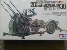 Tamiya 1/35 German 20 Mm FLAKVIERLING 38 MITSd.Ah.52 (sans équipage ou autre véhicule Inc)