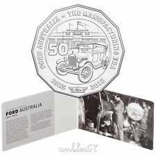 2017 Ford Australian Classic Uncoloured 50cent carded UNC