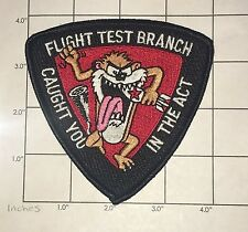 Flight Test Branch Patch - Caught You in the Act - US Air Force