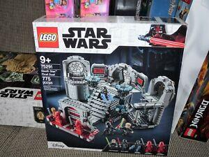LEGO 75291 Star WarsReturn Of The Jedi Death Star Final Duel Building Set! NEW