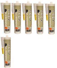 6 Montageklebern für Fassadenelemente Dichtstoffe Profile NMC DOMOSTYL Stuck