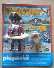 ETHAN LE POMPIER PLONGEUR SOUS MARIN FIGURINE PLAYMO PLAYMOBIL DE MAGAZINE